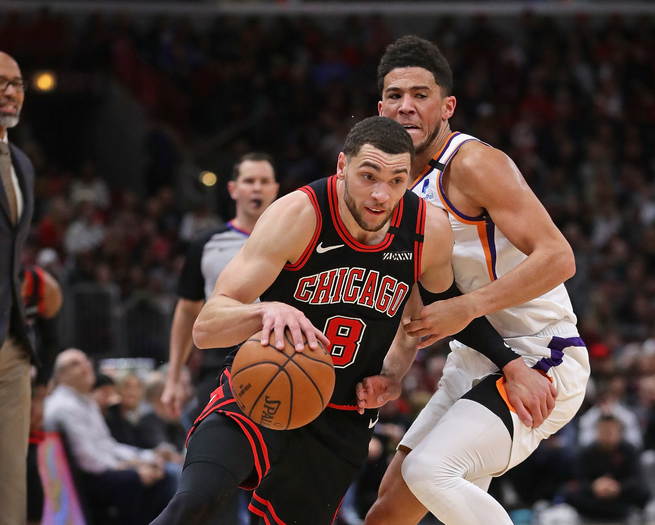 Zach LaVine vs. Devin Booker